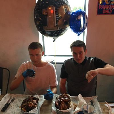 Daniel And Tyler Failed The Spicy Chicken Wings Challenge