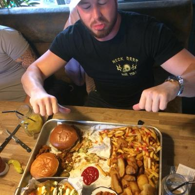 Ryan Bush By Failed The Ultimate Burger Challenges
